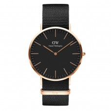CLASSIC BLACK CORNWALL 40 ROSE GOLD