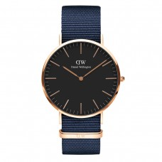 CLASSIC BLACK BAYSWATER 40 ROSE GOLD