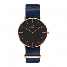 CLASSIC BLACK BAYSWATER 36 ROSE GOLD