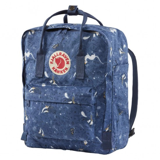Fjallraven KÅNKEN ART Blue Fable Backpacks