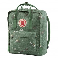 Fjallraven Kanken Art Green Fable Backpacks