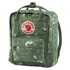 Fjallraven Kanken Art Mini Green Fable Backpacks