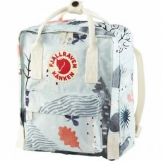 Fjallraven Kanken Art Mini Birch Forest Backpacks