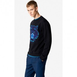 Kenzo Mens Tiger Sweatshirt 'holiday Capsule' Black